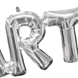Ballong i sølv -Party- 83cm