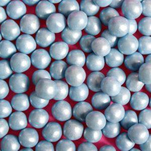 Spiselige perler blå