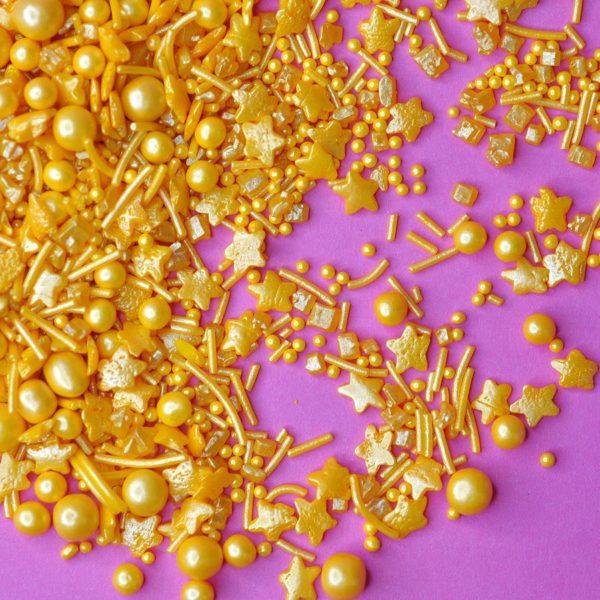 Glutenfritt kakestrø gull