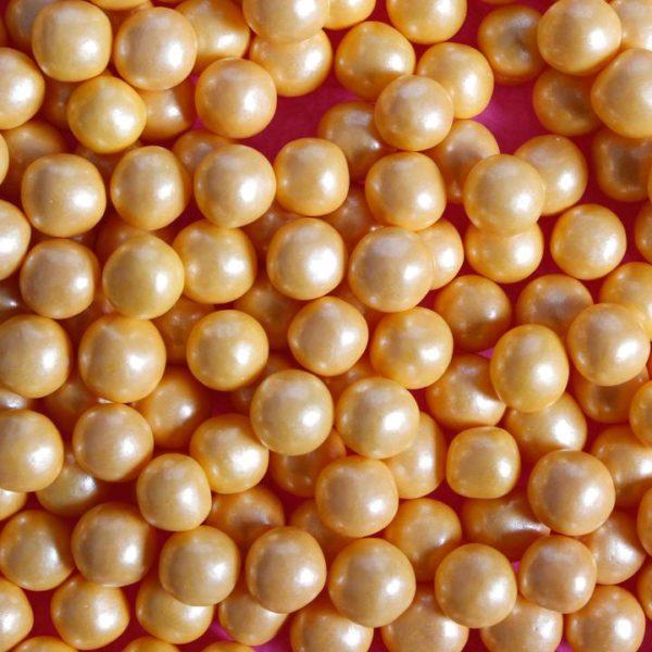 Kakestrø perler gull