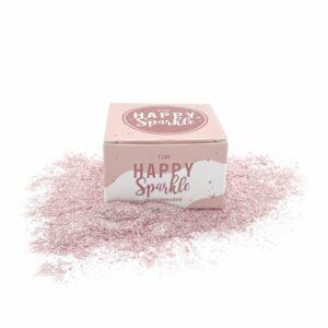 Happy sparkle spiselig glitter rosa