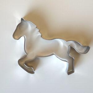 Pepperkakeform hest