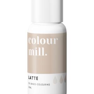 Colour Mill oljebaserte farger latte