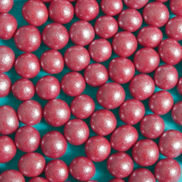 Spiselige perler rød