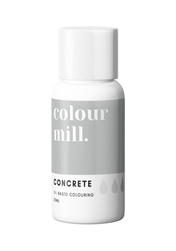 Colour Mill Oljebasert Matfarge Concrete