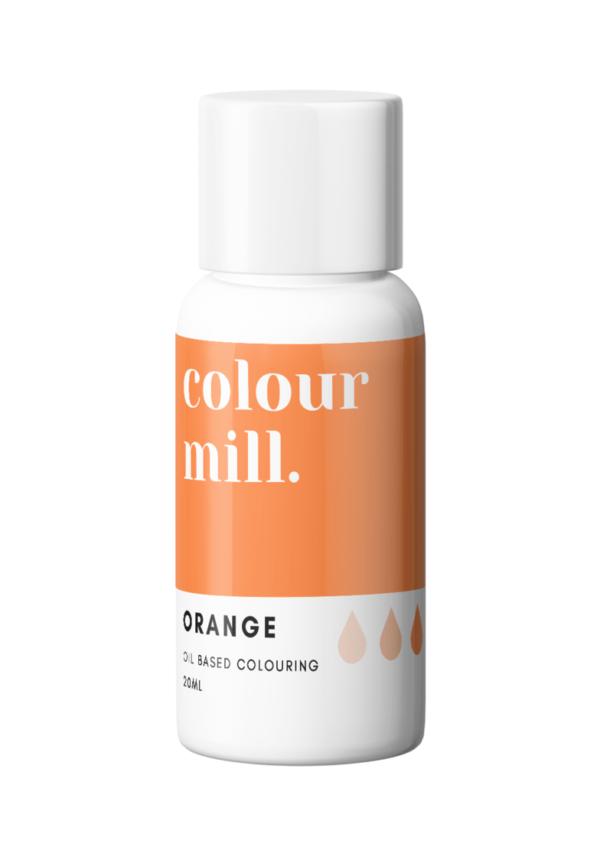 Colour Mill Oljebasert Matfarge Oransje