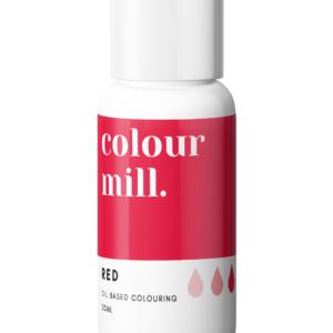 Colour Mill oljebasert farge rød