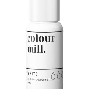 Colour Mill oljebasert farge hvit
