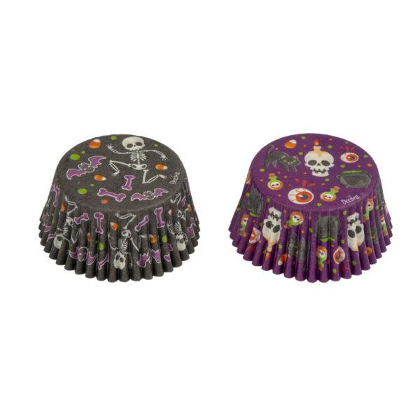Decora Muffinsformer halloween skjellett