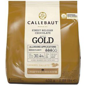 Callebaut sjokolade -Gull- 400g