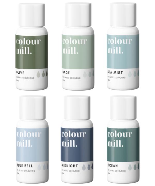 Colour Mill fargepakke Coastal