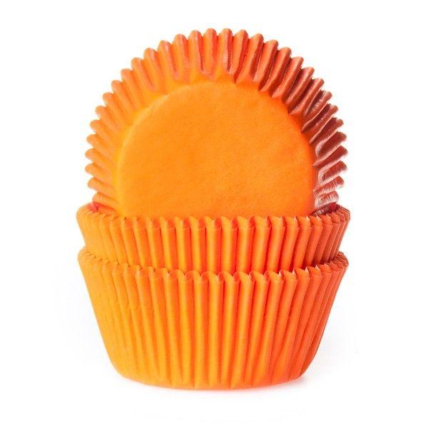 House of Marie Standard Muffinsformer -Oransje- pk/50
