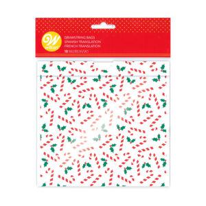 Wilton gaveposer jul - polkastenger og kristtorn