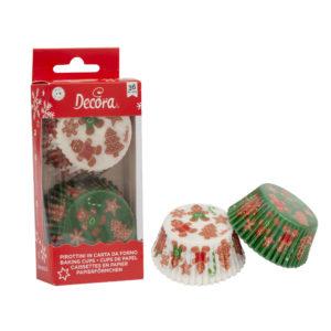 Decora Muffinsformer Jul - Pepperkakefigurer