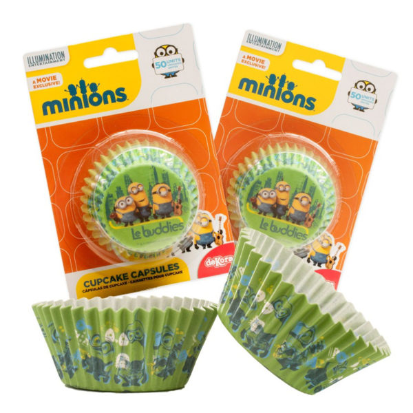 Muffinsformer Minions pk/50