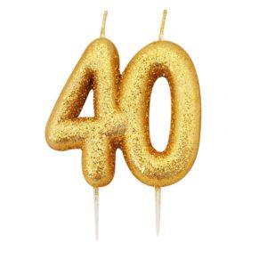 Tallkakelys gull 40-årsdag